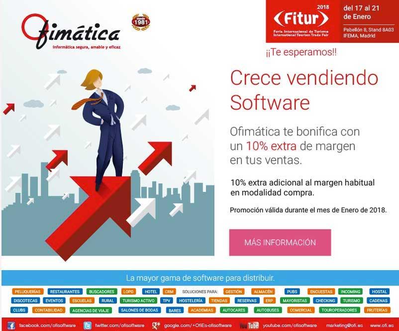 Crece vendiendo software con Ofimática