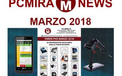 PCMIRA News Marzo 2018