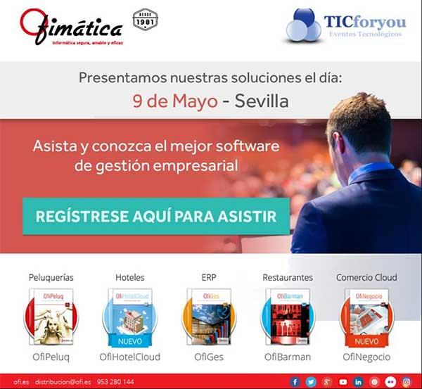 ofimatica presenta sus soluciones en Sevilla