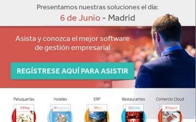 OFIMATICA la próxima semana en Madrid presentando al canal nuestro software. ¡Apúntate!