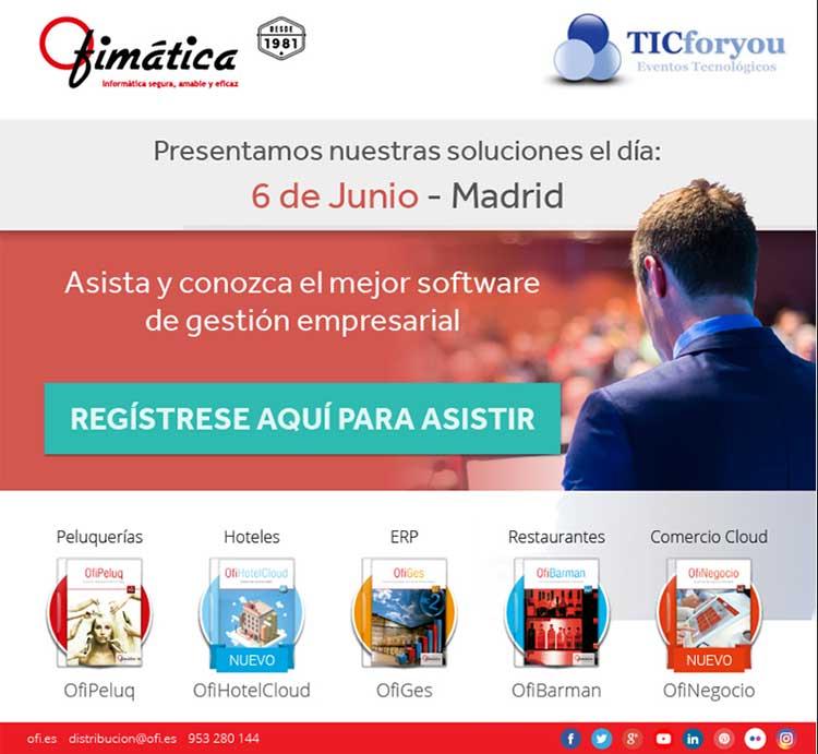 evento ofimatica software en madrid