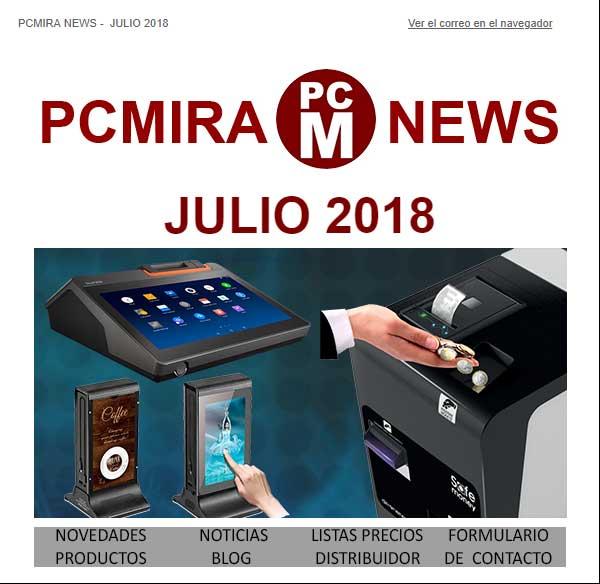 PCMIRA News julio 2018