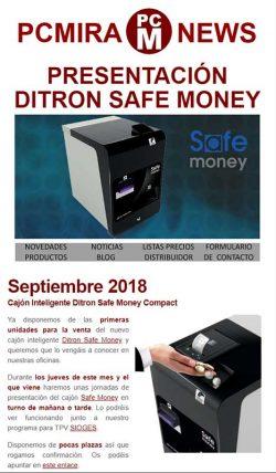 presentacion ditron safe money