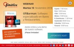 webinar comercial de Ofimatica