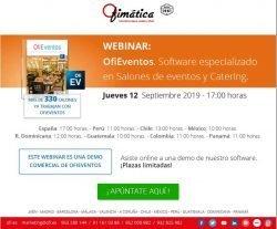 webinar comercial OfiEventos