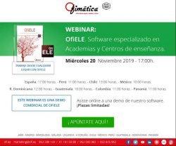 Webinar Comercial OfiELE