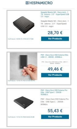 descuentos en SSD