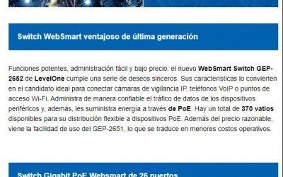 Switch WebSmart ventajoso de última generación