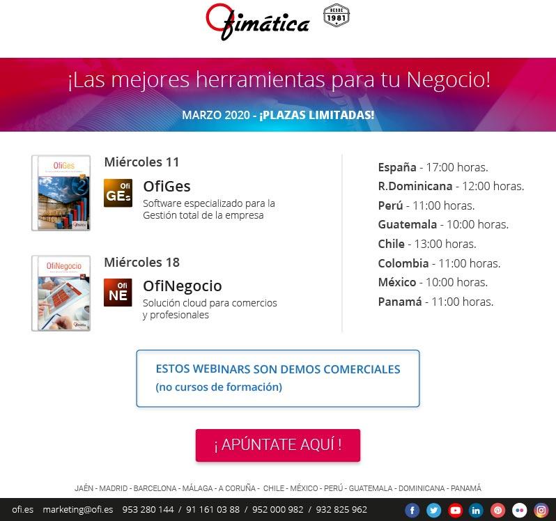 webinars Ofimatica