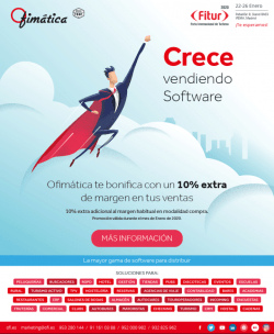 Consigue un 10% de margen extra en Enero por vender software OFI