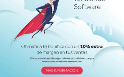 Consigue un 10% de margen extra en Enero por vender software OFI