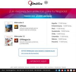 webinars gratuitos ofimatica