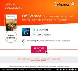 software especializado en salones de eventos y catering