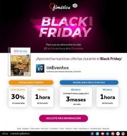 Black Friday Ofieventos. Descuentos
