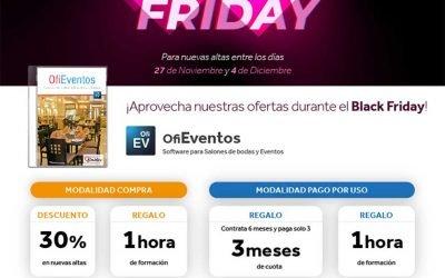 Black Friday con OfiEventos